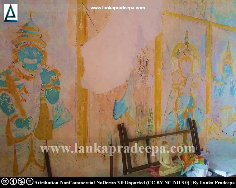 These paintings are said to have been done in the Gampola era