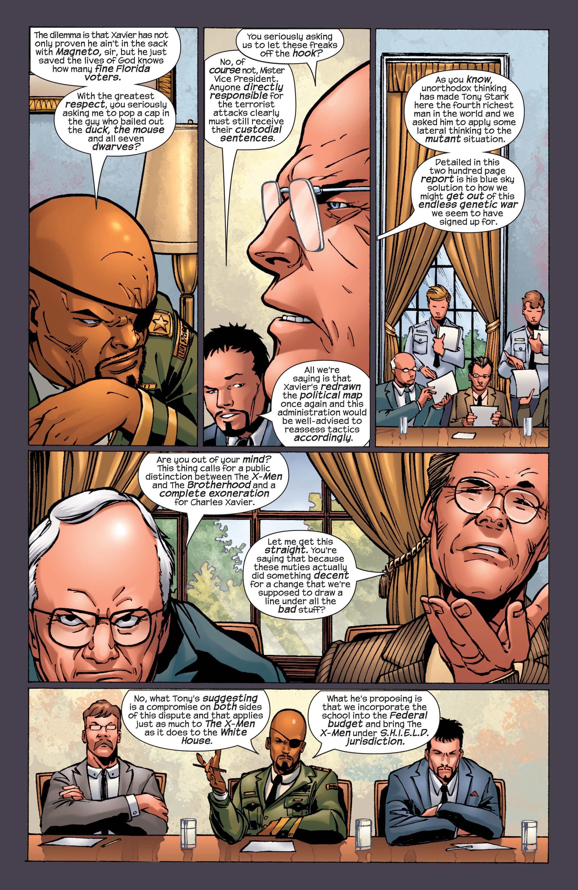 Read online Ultimate X-Men comic -  Issue #32 - 10