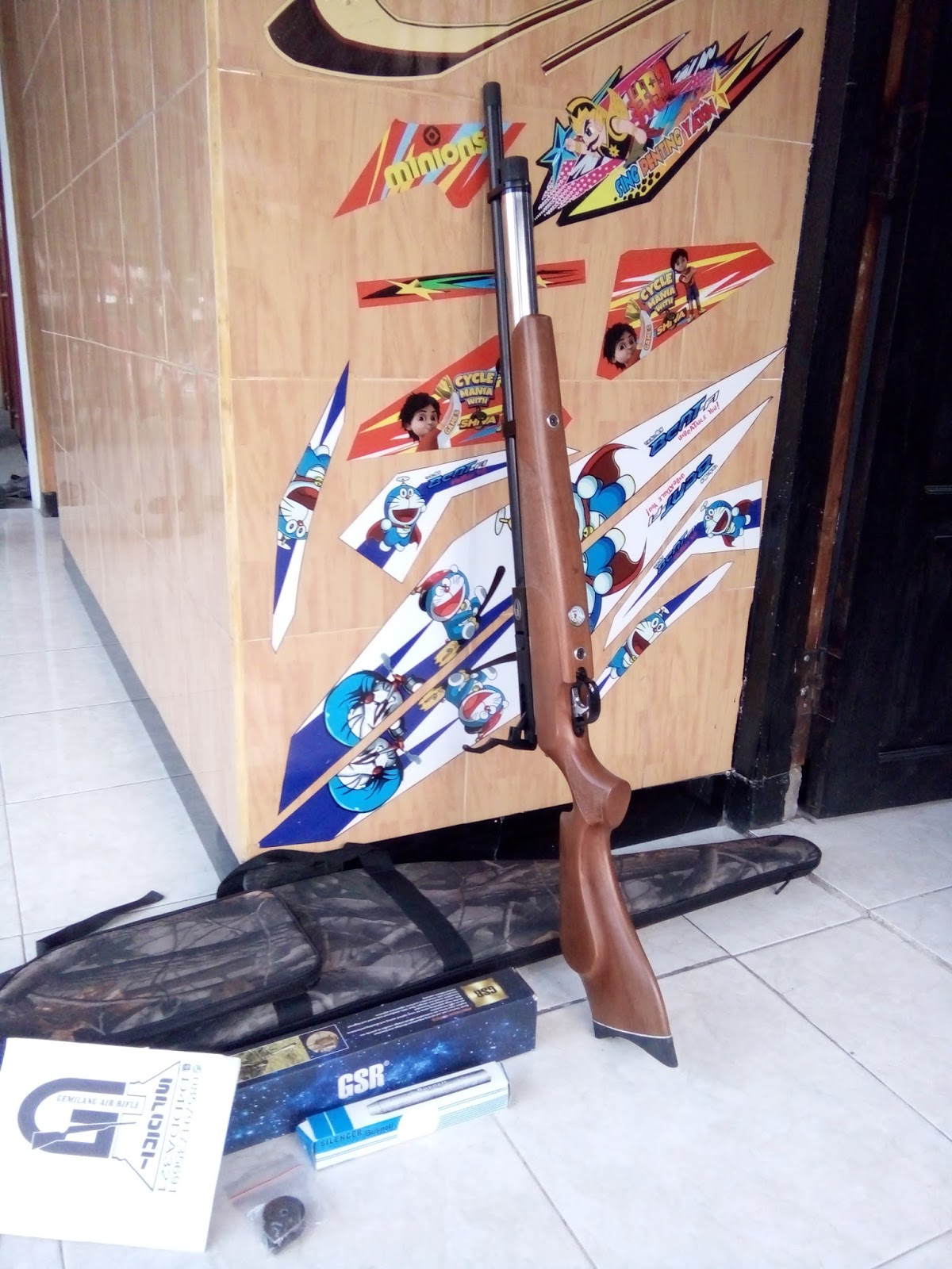 Senter Kepala Led Dony Kl 180 Gemilang Air Rifle Sport Pcp Marauder Stenlis Od 34