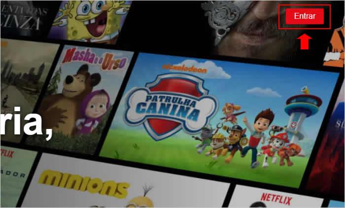 Acessando a Netflix pelo computador
