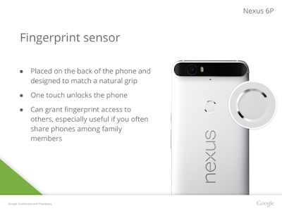 Leaked presentation reveals the Nexus 6P will feature a big 3450mAh battery (UPDATE)