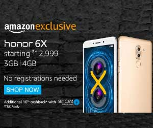honor 6x amazon exclusive offers