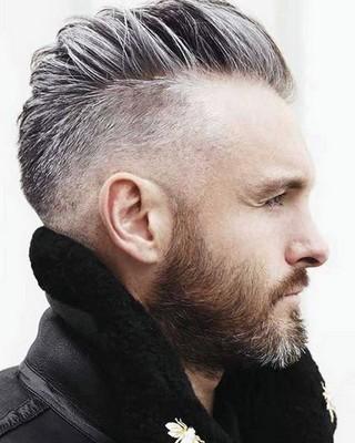 Potongan rambut pria segi undercut