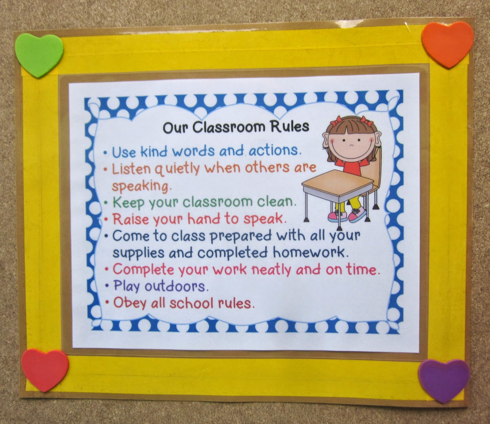 Nyla's Crafty Teaching: Free Posters - Positive Classroom ...