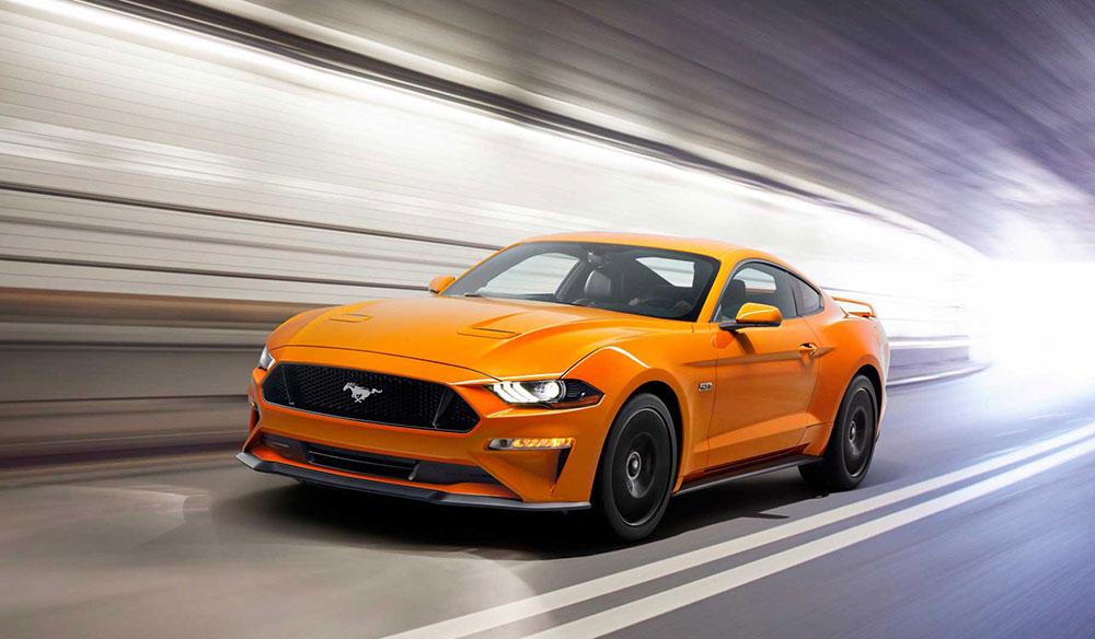 Efsane Ford Mustang 2018 HD Resimleri