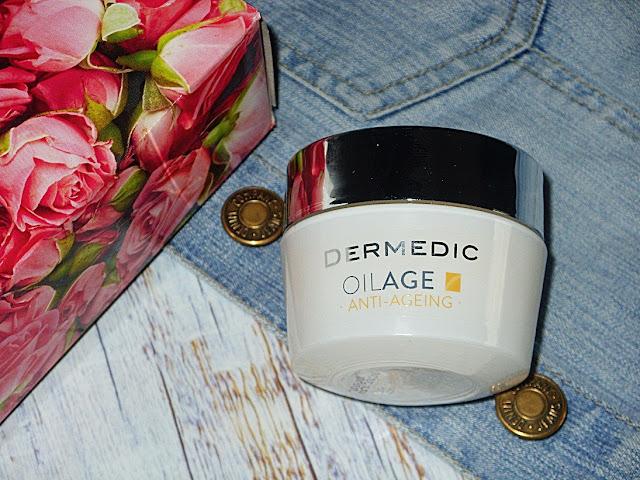 Recenzja: Naprawczy krem na noc przywracający gęstość skóry, OilAge od Dermedic