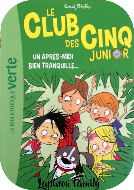 club des cinq junior bibliotheque verte