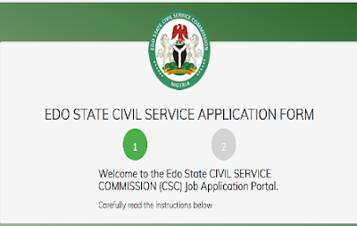 Edo State Civil Service Recruitment Exercise 2018 - Apply Here