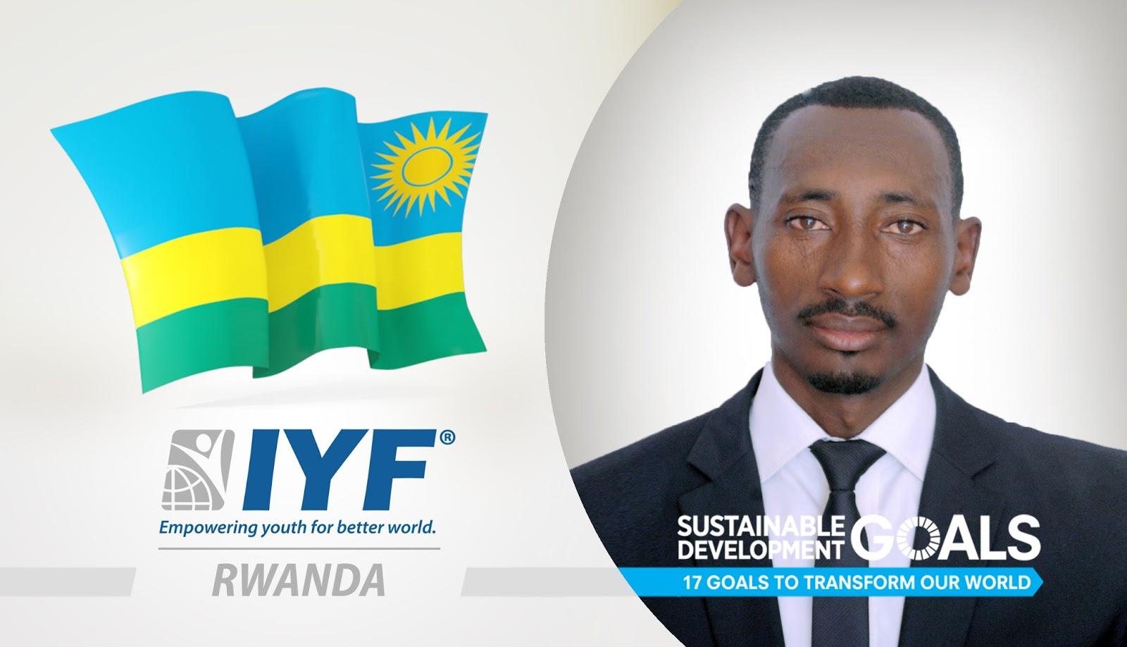 Joseph MASENGESHO, IYF Representative in Rwanda