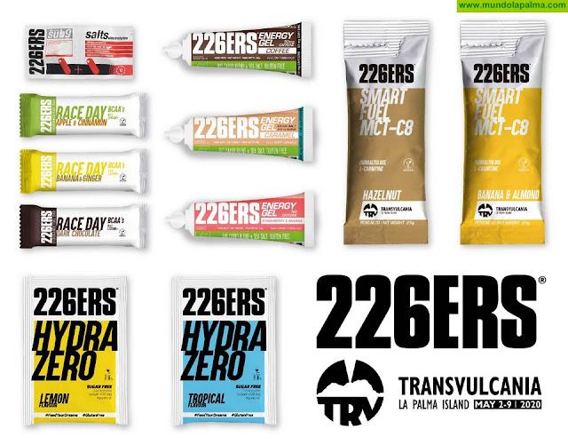Transvulcania cierra un acuerdo con la prestigiosa marca de nutrición y suplementación deportiva 226ERS