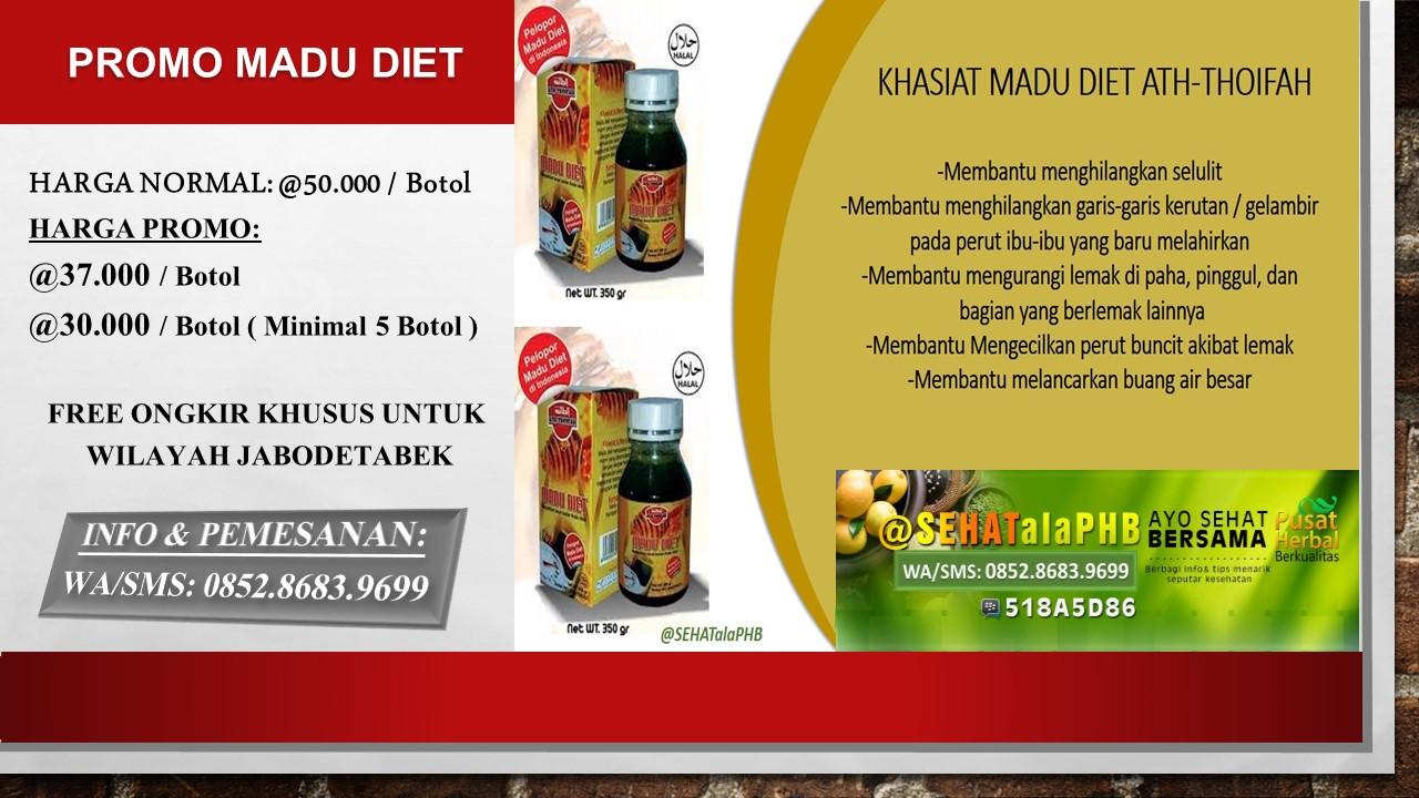 PELANGSING ALAMI TANPA EFEK SAMPING -MADU DIET