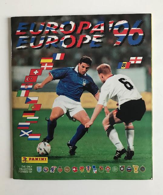 Album Panini Euro 1996