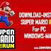 Download/Install Super Mario Run Game For PC[windows 7,8,8.1,10,MAC] for Free