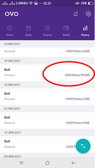 Cara Mendapatkan Kuota Bolt Gratis Dengan Aplikasi OVO