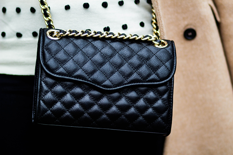 Review Rebecca Minkoff Quilted Mini Affair Crossbody Bag