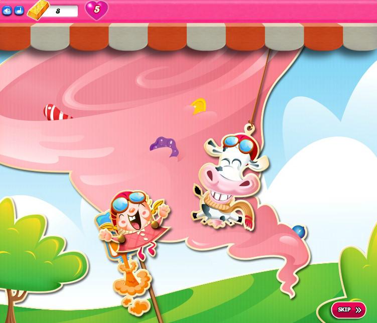 Candy Crush Saga level 2286-2300