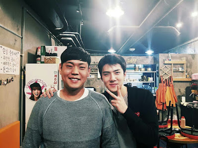 [TRANS] 170422 heeyaceo Instagram Update with Sehun