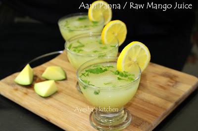 aam ka panna drink summer drink raw mango drink pachamanga juice