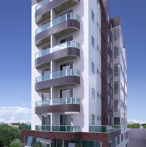 Fachada 3d residencial absolute