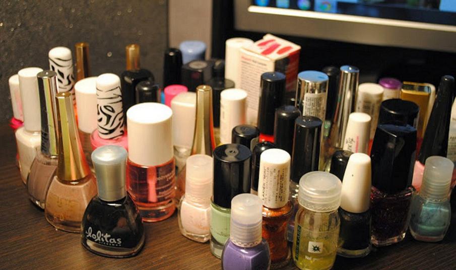 Kolekcja lakierów do paznokci