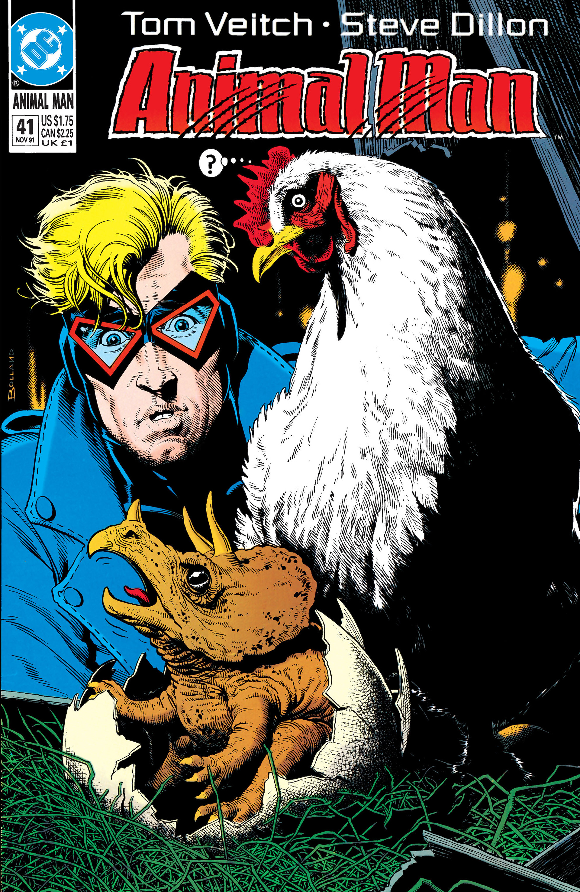 Read online Animal Man (1988) comic -  Issue #41 - 1