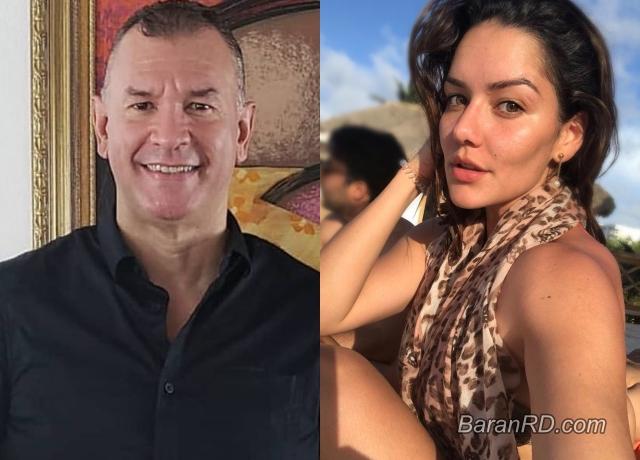 Evelio Herrera y la merenguera Tueska