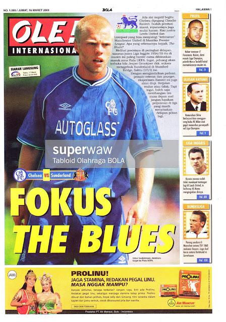 OLE! INTERNASIONAL: FOKUS THE BLUES