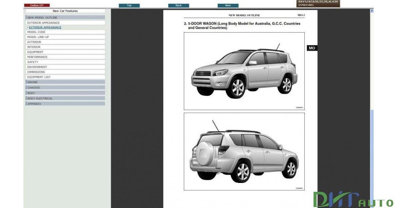 Toyota Rav4 Service  U0026 Repair Manual Update 2008