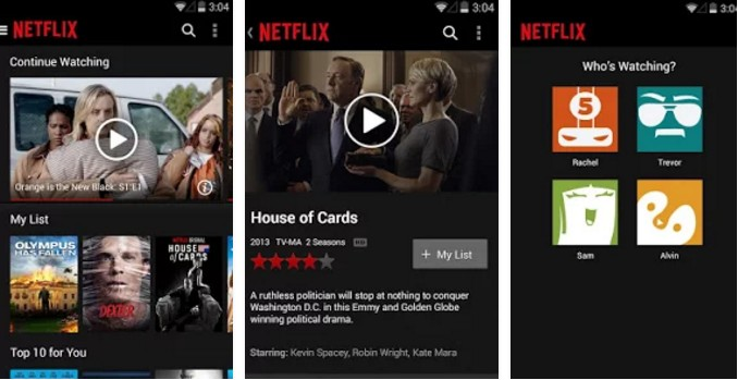 Netflix For Android - Screenshots