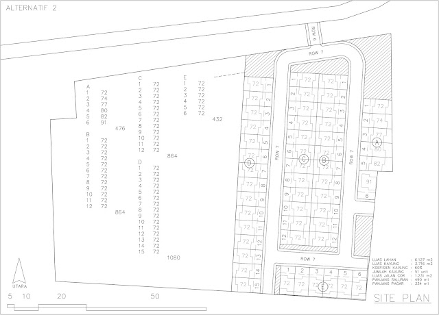 alternatif site plan