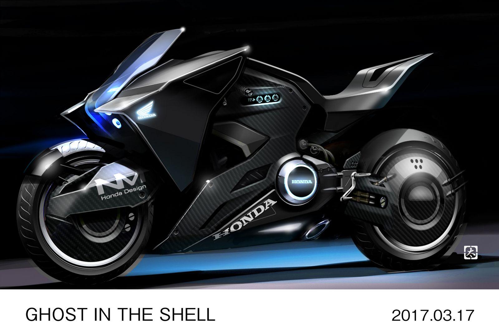 honda unveils futuristic nm concept  scarlett johanssons  film carscoops