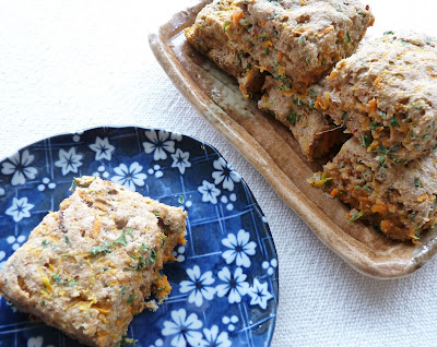Carrot, Dried Tomato, & Herb Whole Wheat Biscuits