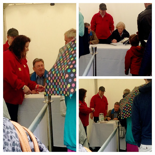 Mary Berry and Alan Titchmarsh at Chatsworth Country Fair travel and lifestyle blog blogger competition prize