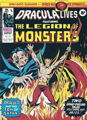 Marvel UK, Dracula Lives #85, Son of Satan