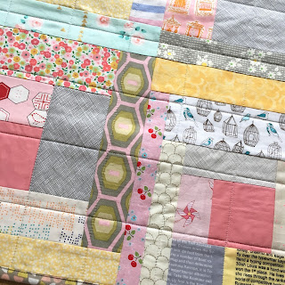 machine quilting grid