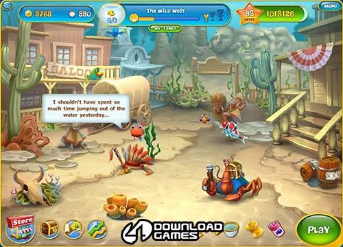 لعبة اسماك الزينة Aquascapes مجانا