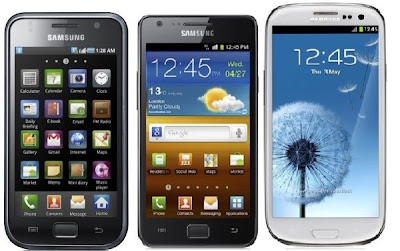 galaxy s3 galaxy note ii