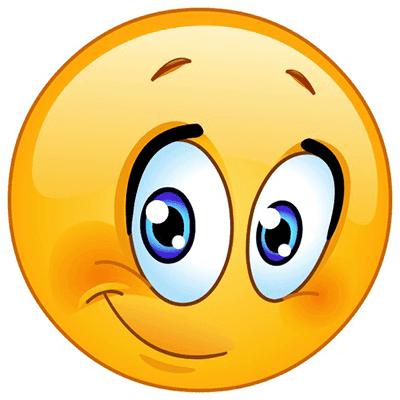 Bashful emoji