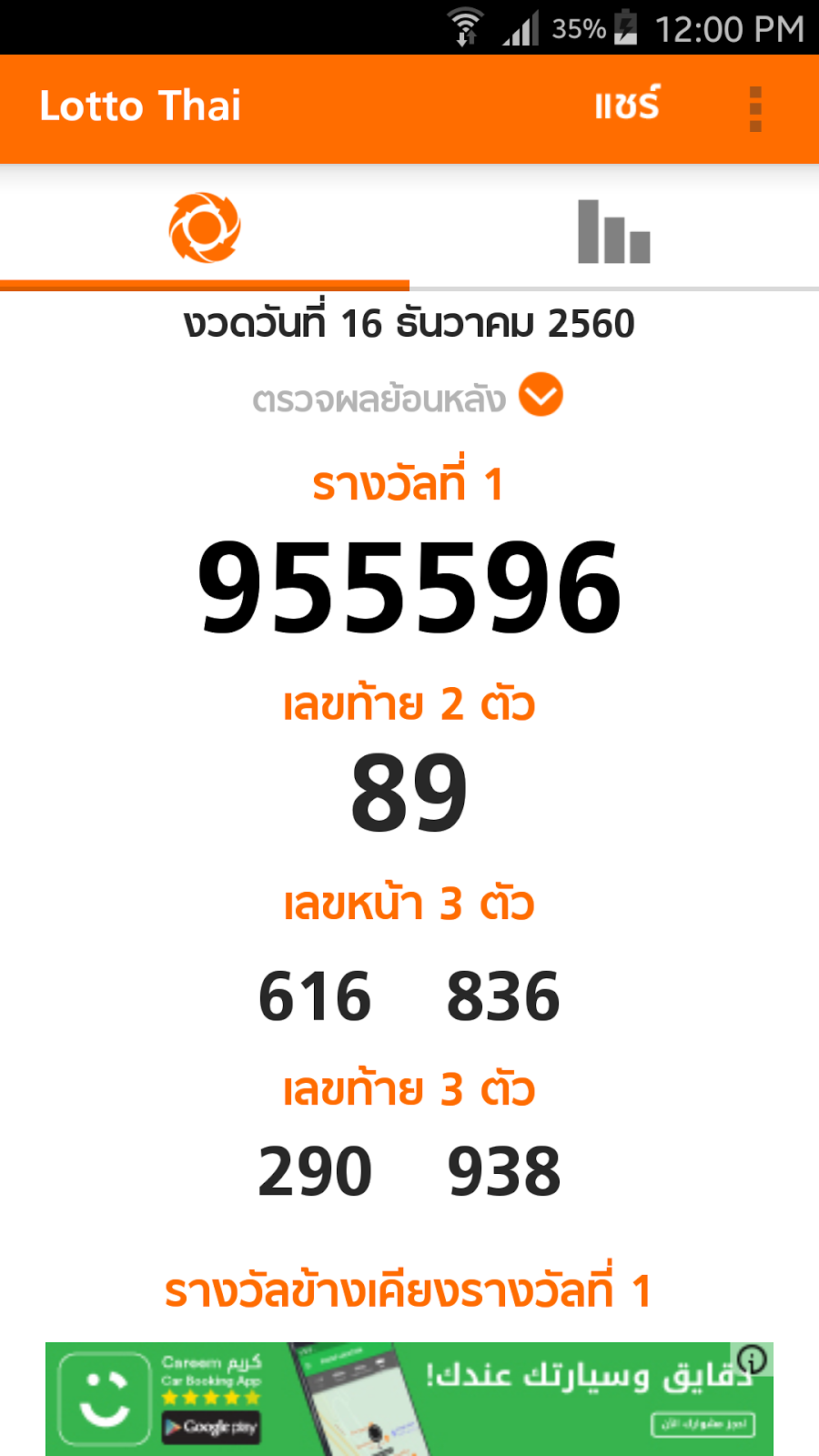 LOTTO RESULT NOW