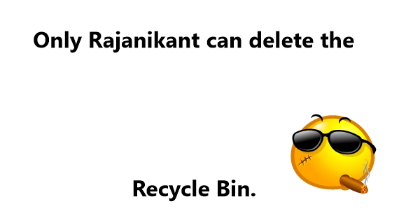 recycle bin jokes