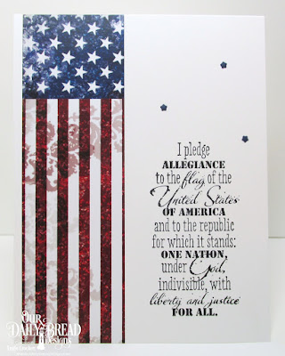 Our Daily Bread Designs Stamp Set: Justice For All, Paper Collection: Stars and Stripes