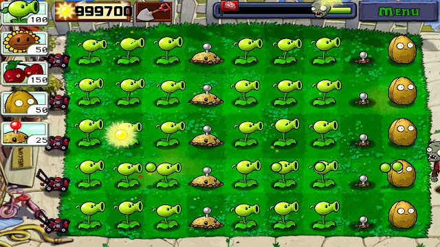 cheat plants vs zombie android no recharging