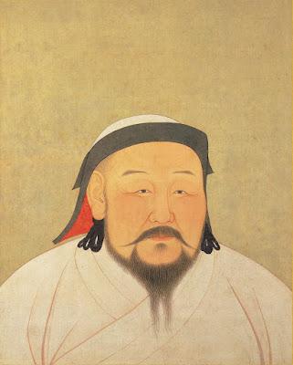 Emperador chino retrato