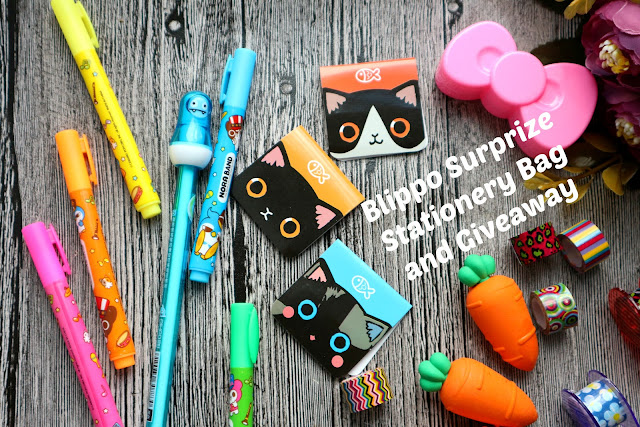 Blippo Surprize Stationery Bag and Giveaway