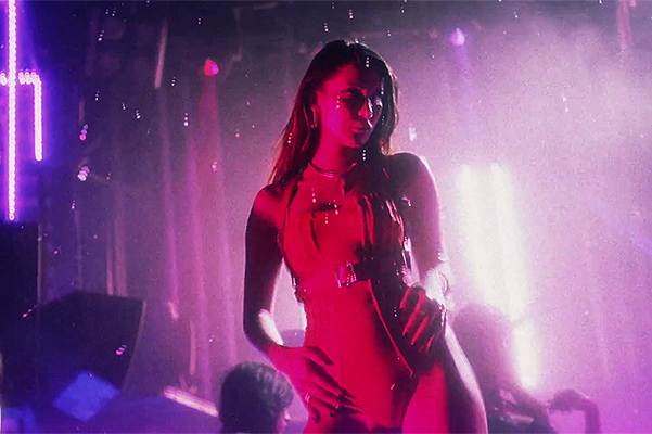 Bella Hadid played a go-go dancer in a new clip The Weeknd