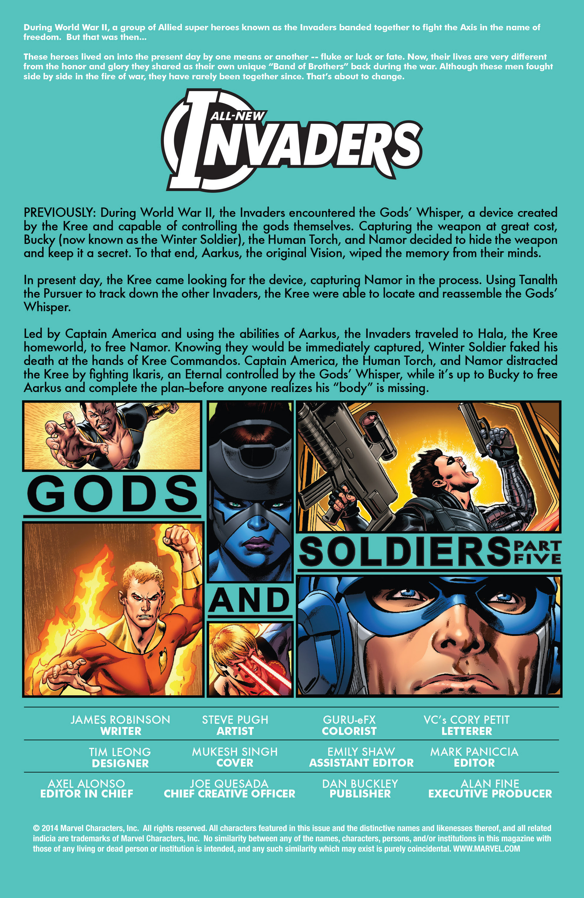 Read online All-New Invaders comic -  Issue #5 - 2