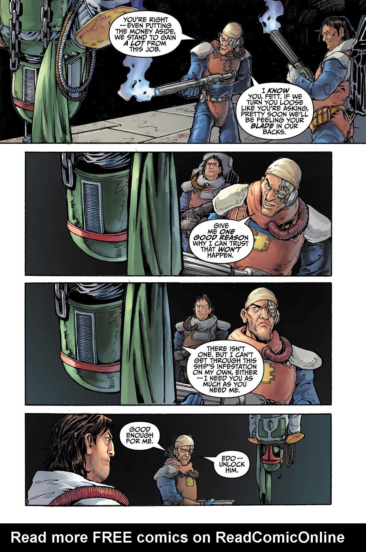 Read online Star Wars Adventures comic -  Issue # Issue Boba Fett and the Ship of Fear - 41