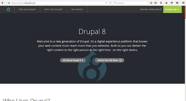 blog hosting website drupal