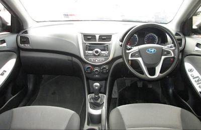 Interior Hyundai Grand Avega
