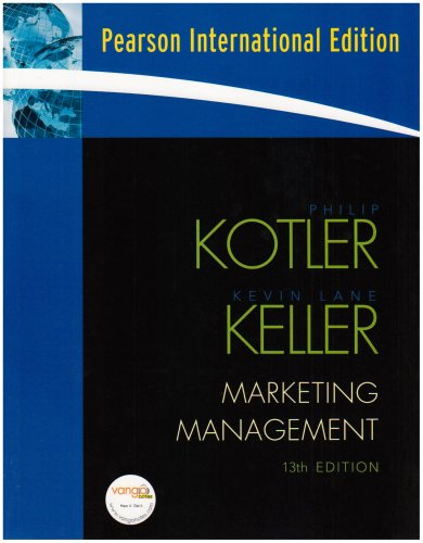 Marketing Management By Philip Kotler 12th Edition Ebook